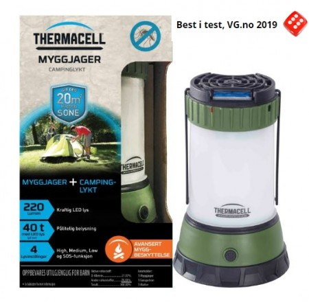ThermaCELL myggjager MR-CLC campinglykt