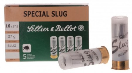 Sellier & Bellot 16/67 Slug 27g - 5 stk