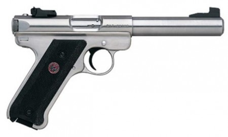 Ruger Mark III Target 22Lr Stainless