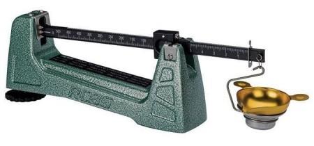 Kruttmål, vekter og tilbehør