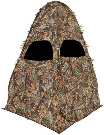 Kamuflasje telt - The Original Outhouse Ground Blind, Realtree Xtra