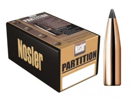 6,5mm Nosler Partition 125grs - 50 stk