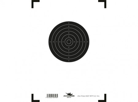 Accurize skive 25m Pistol Duell 5m ISSF (5,6)