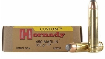 Hornady 450 Marlin 350gr FP InterLock