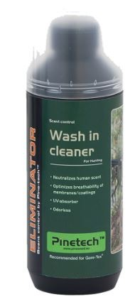 Pinewood Wash in cleaner