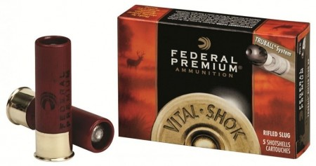 Federal rifled 12/70 Slug 28g - 5 stk