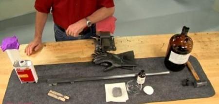 Blånering og stålbehandling